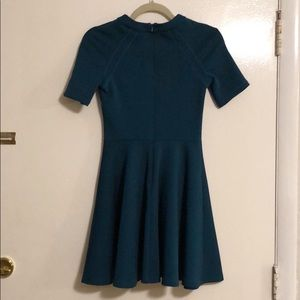 ASOS Skater Stretch Teal Dress